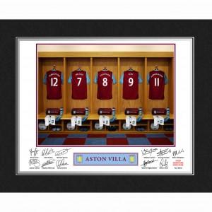 Aston Villa Dressing Room Folder
