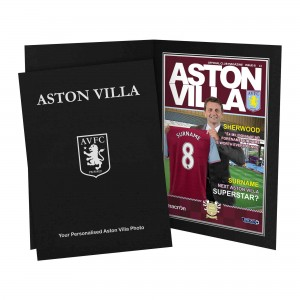 Aston Villa Magazine Cover Folder