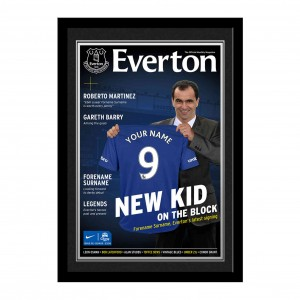 Everton Magazine Cover Folder