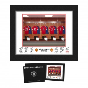 Manchester United Dressing Room Folder