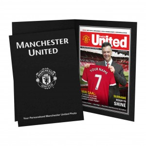 Manchester United Magazine Cover Folder