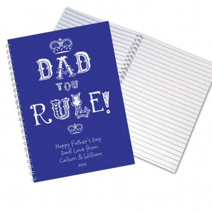 Dad You Rule Notebook