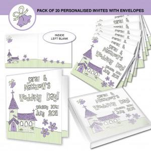 Wedding Church Invitations