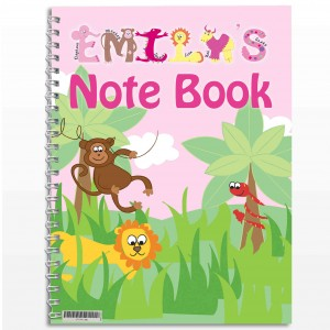 Girls Animal Alphabet Notebook
