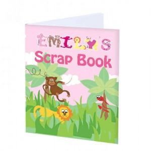 Girls Animal Alphabet Scrap Book
