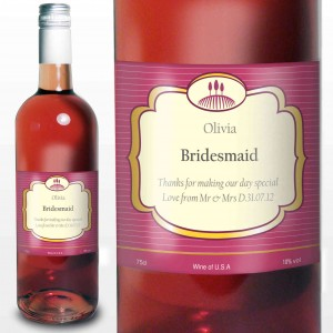 Rose Wine Classic Label