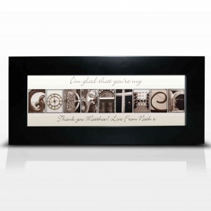 Affection Art Godfather Small Frame