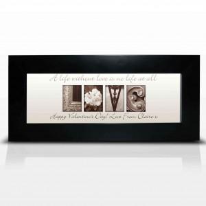 Affection Art Love Small Frame