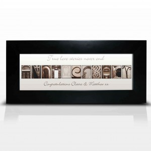 Affection Art Anniversary Small Frame