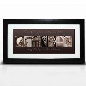 Affection Art Grandad Large Frame