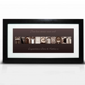 Affection Art Anniversary Large Frame