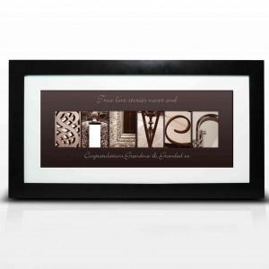 Affection Art Silver Large Frame