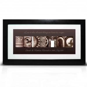 Affection Art Wedding Large Frame