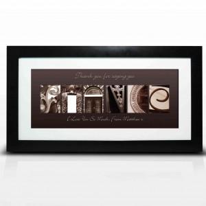 Affection Art Fiance Large Frame