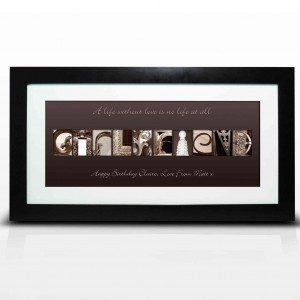 Affection Art Girlfriend Large Frame