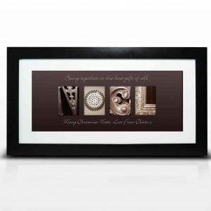 Affection Art Noel Large Frame