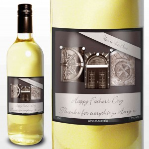 Affection Art Dad White Wine