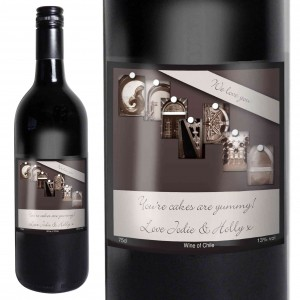 Affection Art Grandma Red Wine with Gift Box