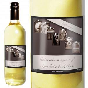 Affection Art Grandma White Wine with Gift Box