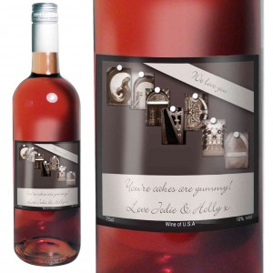 Affection Art Grandma Rose Wine with Gift Box