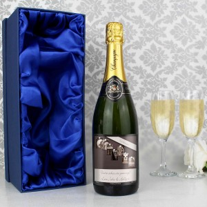 Affection Art Grandma Champagne with Gift Box
