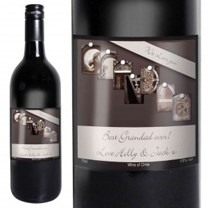 Affection Art Grandad Red Wine with Gift Box