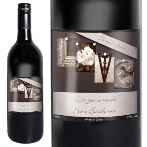 Affection Art Love Red Wine with Gift Box