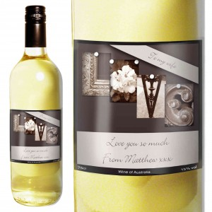 Affection Art Love White Wine with Gift Box