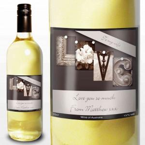 Affection Art Love White Wine