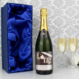 Affection Art Love Champagne with Gift Box