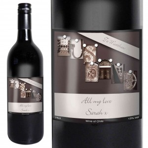 Affection Art Husband Red Wine with Gift Box