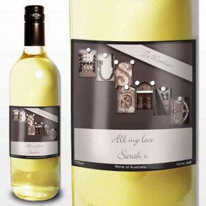 Affection Art Husband White Wine