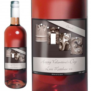 Affection Art Wife Rose Wine with Gift Box