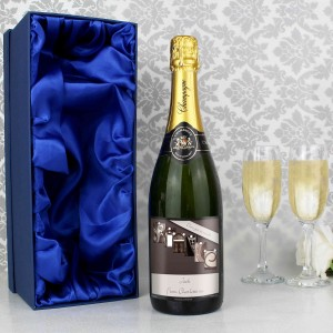 Affection Art Fiance Champagne with Gift Box