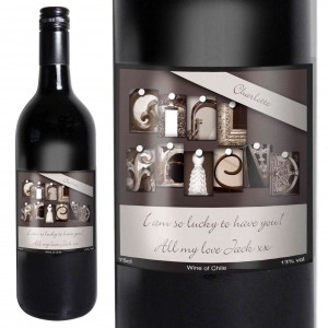 Affection Art Girlfriend Red Wine with Gift Box
