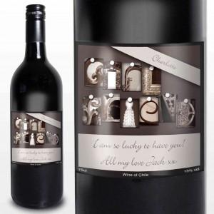 Affection Art Girlfriend Red Wine