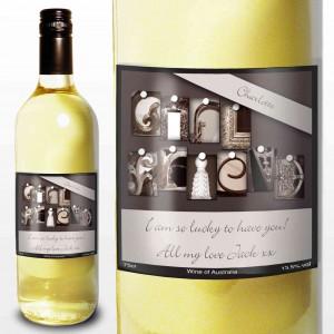 Affection Art Girlfriend White Wine