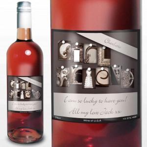 Affection Art Girlfriend Rose Wine