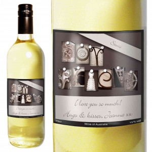Affection Art Boyfriend White Wine with Gift Box