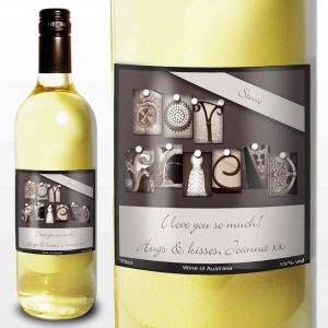 Affection Art Boyfd White Wine