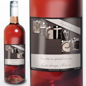 Affection Art Partner Rose Wine with Gift Box