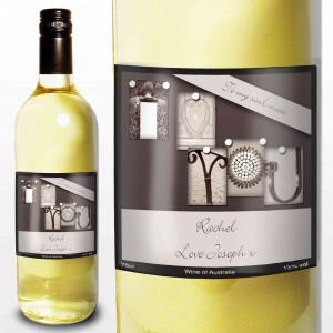 Affection Art I Heart U White Wine