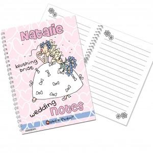 Bang on the Door Wedding Bride Notebook