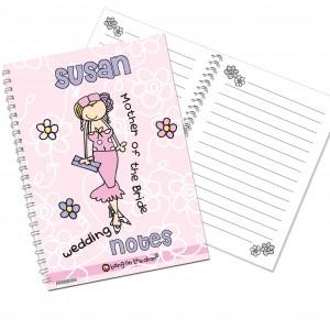 Bang on the Door Wedding Female Notebook