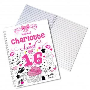 Sweet 16 Notebook