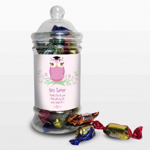 Miss Teacher Owl Toffee Jar