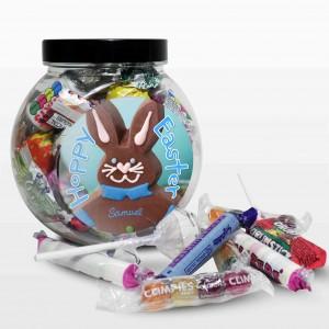 Blue Bunny Sweet Jar