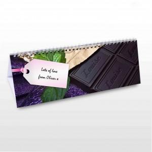 Milk Chocolate Desk Calendar