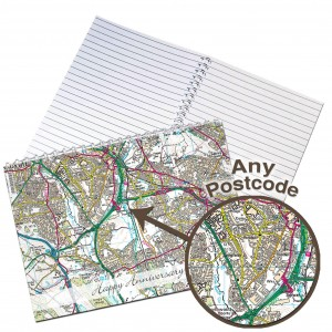 Present Day Map Notebook