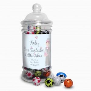 Fabulous Usher Milk Chocolate Balls Jar